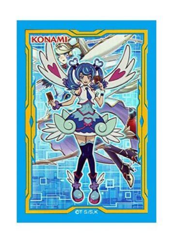 Yu-Gi-Oh Carte Protector Blue Angel trickstar manches 60 pcs Japon manches NEUF