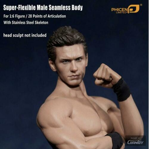 1//6 TBLeague Phicen M30 M31 M32 M33 M34 Male Body For Hot Toys 12in Figure