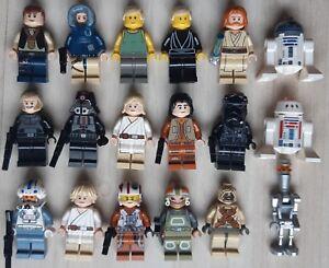 Choose Minifig 4 LEGO Star wars Figurines minifigure au choix