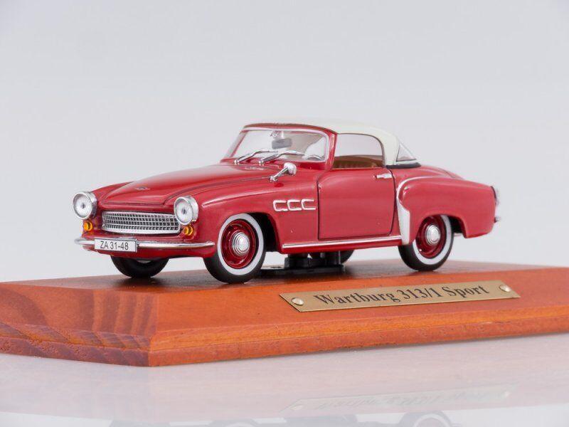 Scale model 1 43 Wartburg 313 1 Sport