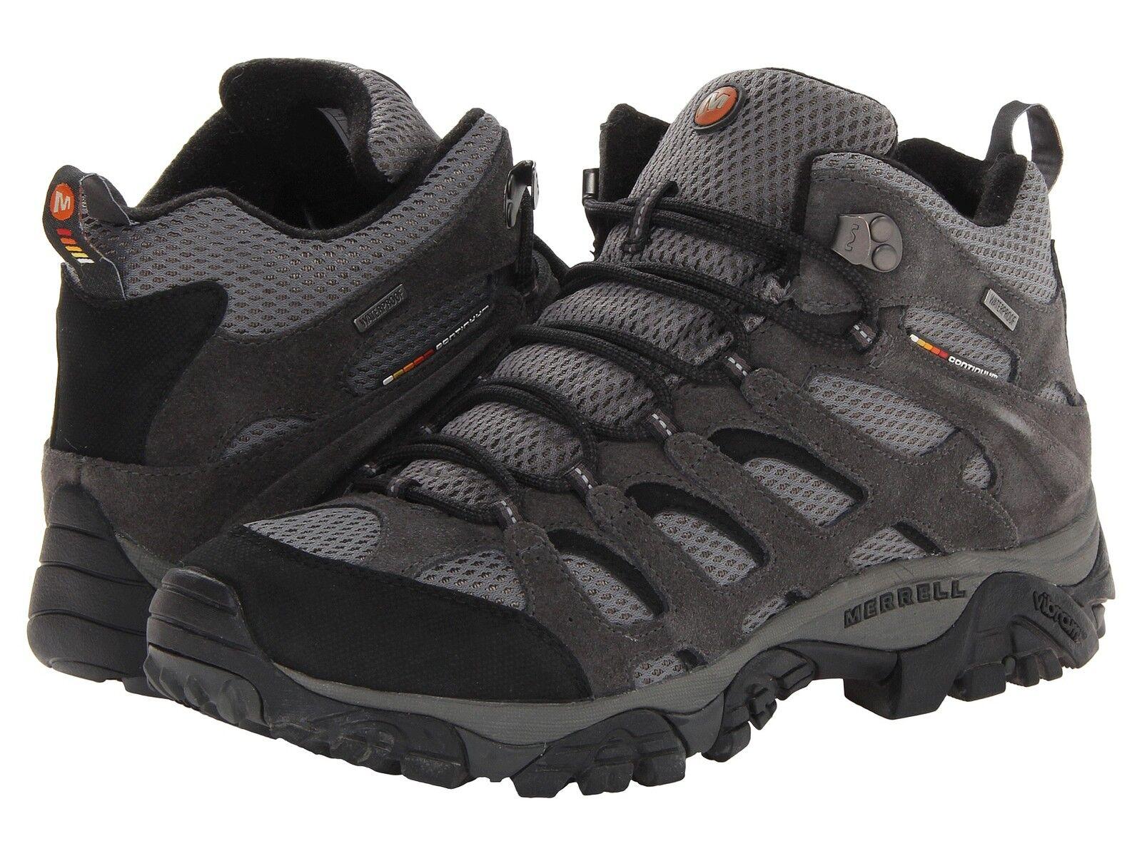 merrell moab mid waterproof hiking boots