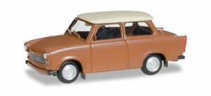 Herpa-020763-004-Trabant-601-S-Braun-Model-1-87-H0