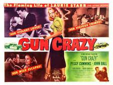 1950 GUN CRAZY VINTAGE MOVIE POSTER PRINT STYLE B 36x18 9MIL PAPER