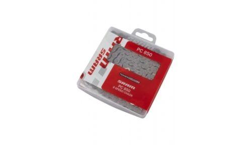 """8-SPEED ROAD//MTB BIKE CHAIN 1//2/"""" x 3//32/"""" 114L FITS SHIMANO 7 6 SRAM PC-850 5"""
