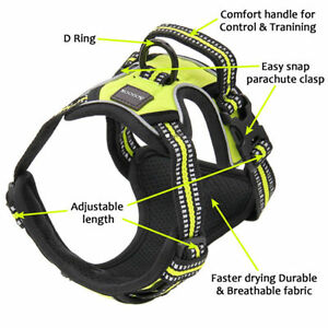 No-pull-Dog-Pet-Harness-Reflective-Outdoor-Adventure-Pet-Vest-Padded-Handle-3M