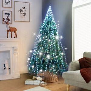 Details About 672 Led Christmas Tree Light Cascading Led Micro Lights Seasonal Decoration Uk