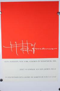 Hans-Hofmann-New-York-Weissenburg-Plakat-1962-Ausstellung-Malerei-60er-Jahre