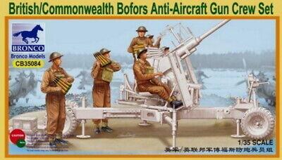 Bronco CB35098 1//35 WWII British//Commonwealth AFV Crew Set incl. 6 Figures