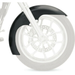 CA Front Smoked Fender Tip LED Light For Harley Touring Street Glide 06-17
