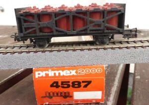 Primex-4587-Saeuretopfwagen-der-DB-Ep-4-in-OVP-fuer-H0-selten-gebraucht