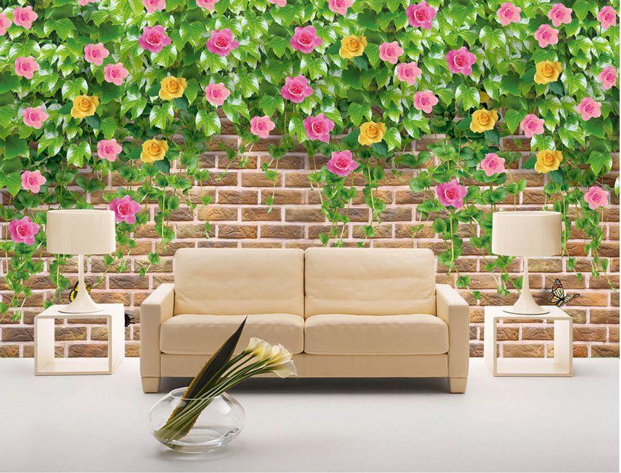 3D Flower Garden 214 Paper Wall Print Decal Wall Wall Murals AJ WALLPAPER GB