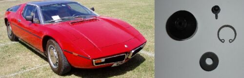 Maserati bora 117 embrayage esclave cylindre réparation joints kit 1971-78