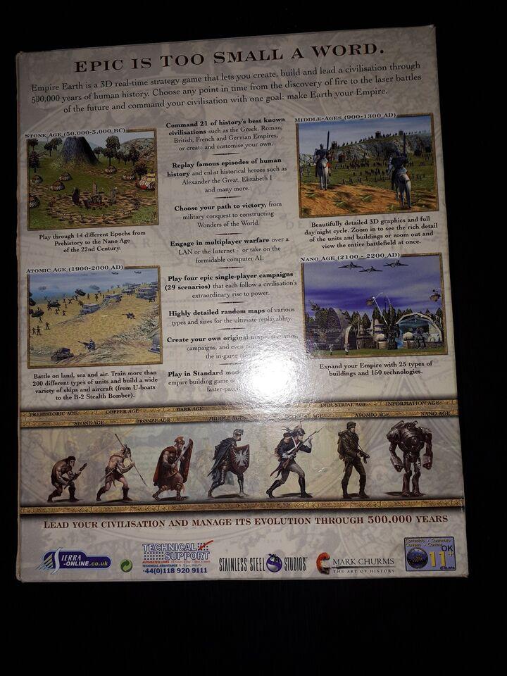 Empire Earth, strategi