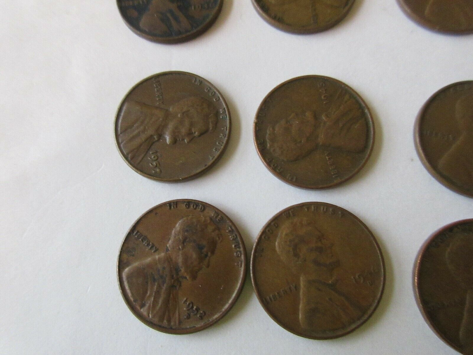 Wheat Penny , Mixed Lot of 21
