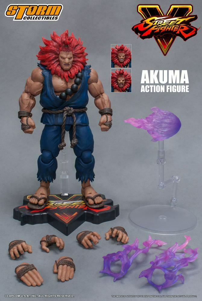 STREET FIGHTER V  AKUMA 112 azione cifra STORM COLLECTIBLES