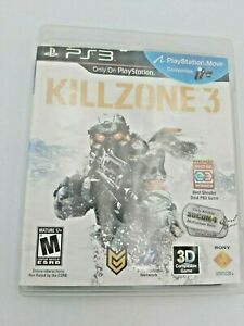 Killzone-3-Sony-PlayStation-3-2011-Complete-amp-Tested-Free-Shipping
