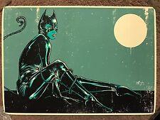 Godmachine Catwoman Batman Dark Knight Movie Print Comic Poster Mondo DC Comics