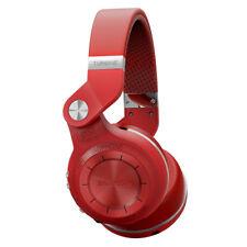 Neuf Bluedio T2S Casque Bluetooth Sans fil Stéréo Écouteur avec Microphone Rouge