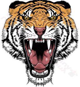 Tigre Tete Rugissant Tatouage Modele T Shirt Femme Hommes S M L Xl