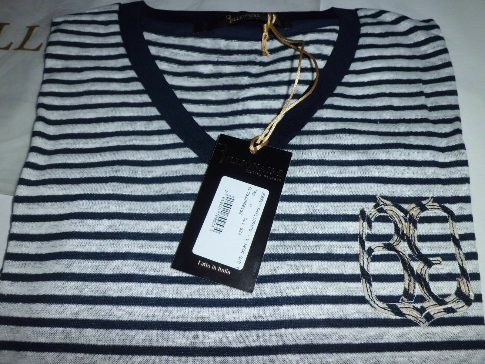 Milliardär italian COUTURE t- Shirts für Männer FLAVIO Größe m