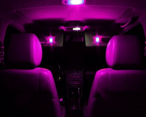 14 x Ultra PINK Interior LED Lights Package For 2003-2005 Honda Pilot TOOL