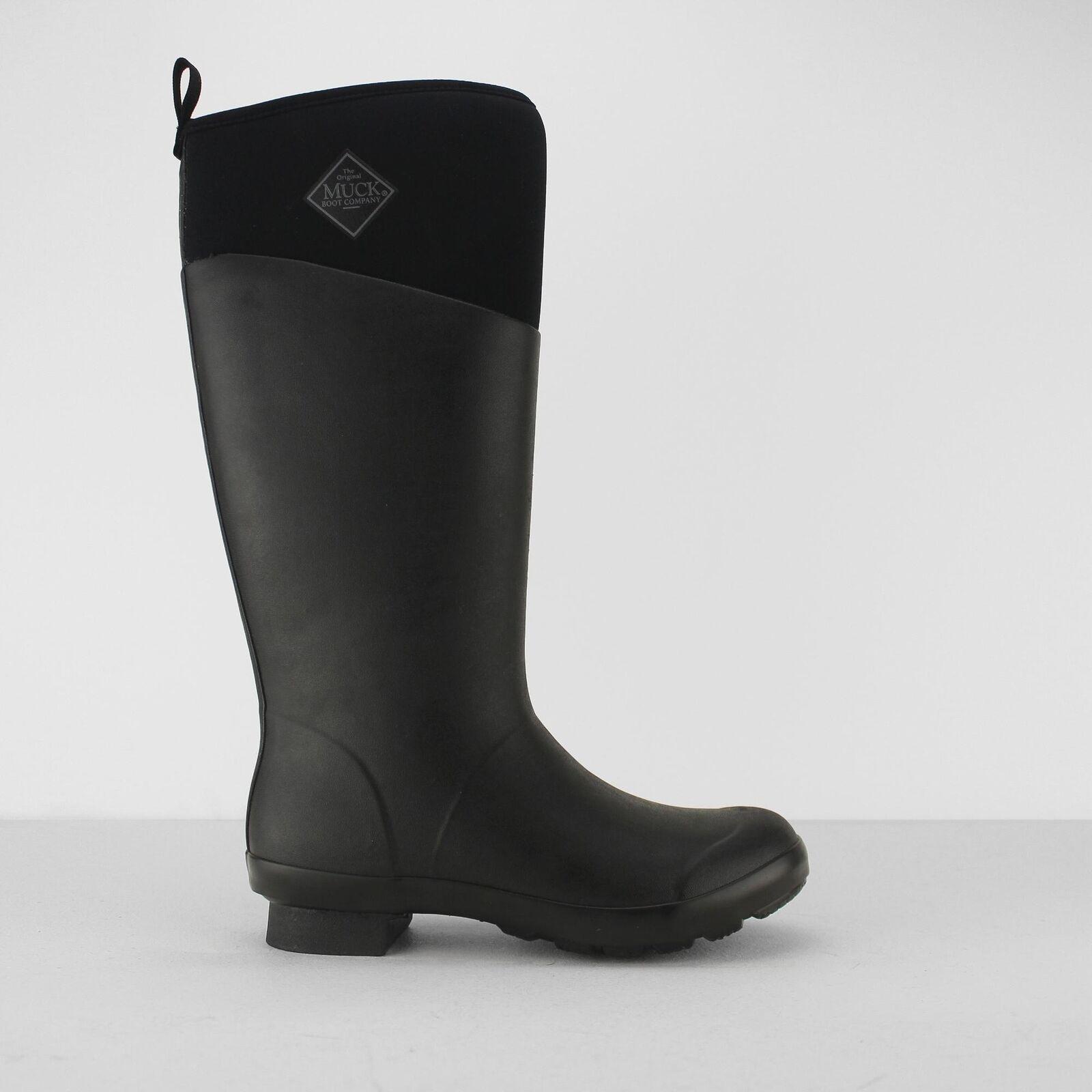 Muck botas botas botas Tremont Señoras Para Mujer Abrigado Forrado botas Altas Wellington Negro Mate  Ahorre 35% - 70% de descuento