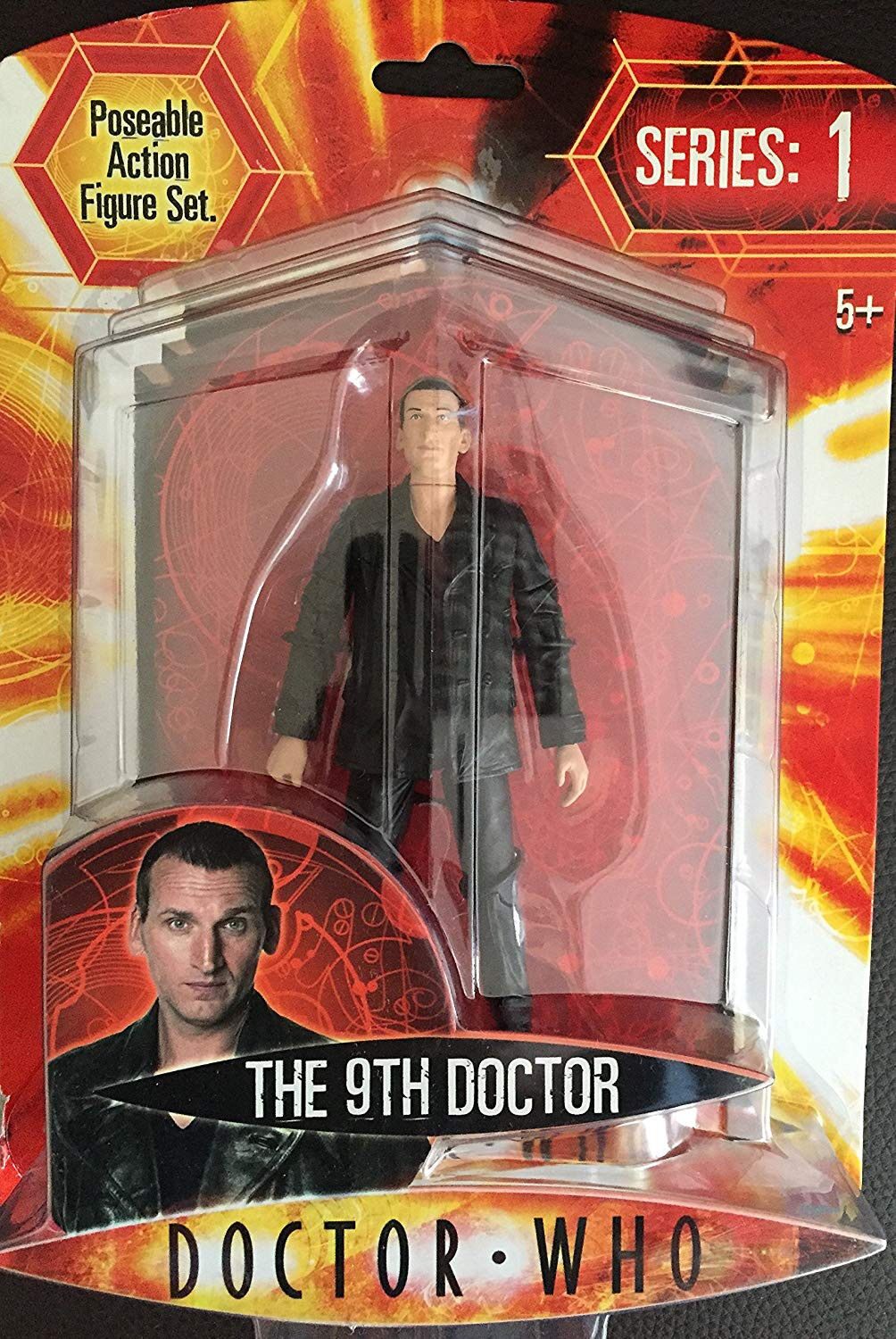 Doctor Who action figure IL DOTTORE 9th mediante Character Options Serie 1