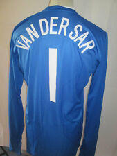 Holland 2008-2009 Player Van Der Sar B Goalkeeper Football Shirt Size Large /she