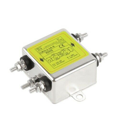 AC 220V power supply filter bipolar purification audio sound CW3L2-3A-S 6A10A20A