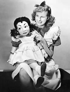 OLD-NBC-TV-PHOTO-Ventriloquist-Shirley-Dinsdale-amp-dummy-Judy-Splinters-5