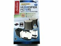 Sunbeam Cool Mist Humidifier Filter Type D (sf221)(value Pack-2 Filters In Box),