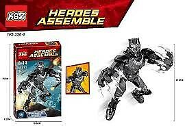 Buildable Figurine- Black Panther