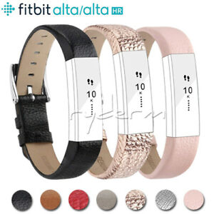 For-Fitbit-Alta-Alta-HR-Genuine-Leather-Watch-Replacement-Band-Wrist-Strap-UK