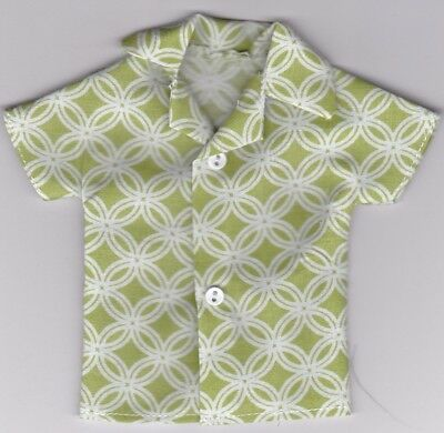 Homemade Doll Clothes-Superman Print Shirt that fits Ken Doll B5