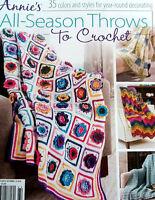 Crochet All-season Throws Magazine Patterns Annie's