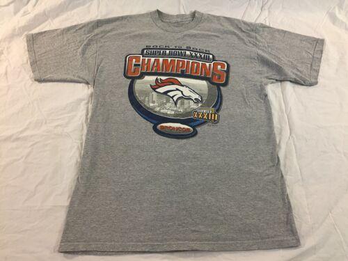 Denver Broncos Back To Back Super Bowl Champions M