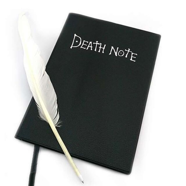 DEATH NOTE NOTEBOOK THEME PDF DOWNLOAD