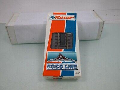 OVP Roco H0 42519 Elektrisches Entkupplungsgleis mit Bettung Länge 115 mm NEU
