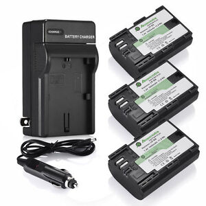3x-LP-E6-LP-E6N-Battery-Charger-for-Canon-EOS-5D-Mark-II-III-6D-60D-7D-70D-80D