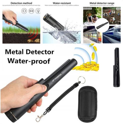 GP-Pointer Probe Metal Gold Detector Vibration Light Alarm Security Pin Point tB