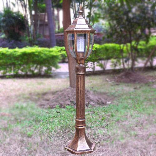 IP44 Aluminum Outdoor Pillar lamp Lantern Garden Light waterproof Post Lighting