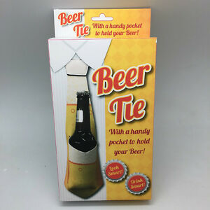Beer-Tie-Bottle-Holder-Drinks-Fun-Stag-Party-Men-039-s-Birthday-Novelty-Xmas-Gift