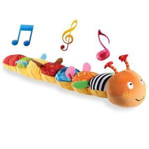 Musik-Spielzeug-Neueste-Crinkle-Rassel-Weich-Mit-Ring-Glocke-Kleinkind-Plue-1A