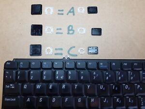 Dell-Inspiron-1540-1545-1546-Series-cualquier-tecla-venta-De-Teclas-De-Teclado