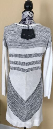 misto francese in 365 taglia bianco lana Lauren Maglione Vidal abito francese M tqZnvO