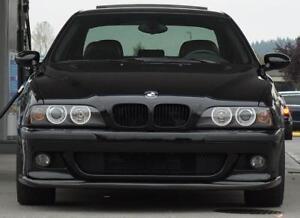 M-Sport-e39-M-5-HM-Front-Bumper-spoiler-lip-Chin-CSL-Power-Valance-Skirt-addon