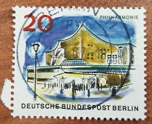 20 Pfg 1965 Philharmonie Deutsche Bundespost Berlin Minr 256 1g5