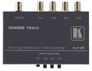 Kramer-4x1VB-4x1-Composite-Video-Mechanical-Switcher