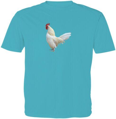 Austra Big White Chicken Kids Girls Boys Youth Chicken Funny Casual T-Shirt