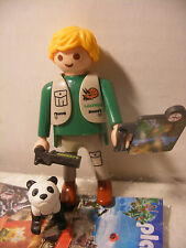 playmobil ZOO Veterinaire bebe Panda inedit edition speciale QUICK FRANCE Neuf